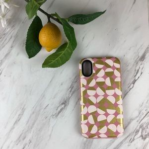 💕 Pink Gold IPhone X Otterbox  EUC